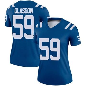 Women's Nike Indianapolis Colts Jordan Glasgow Royal Jersey - Legend