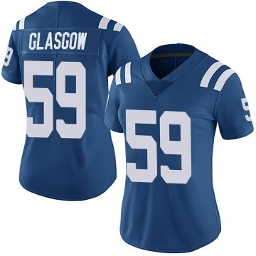 Women's Nike Indianapolis Colts Jordan Glasgow Royal Team Color Vapor Untouchable Jersey - Limited