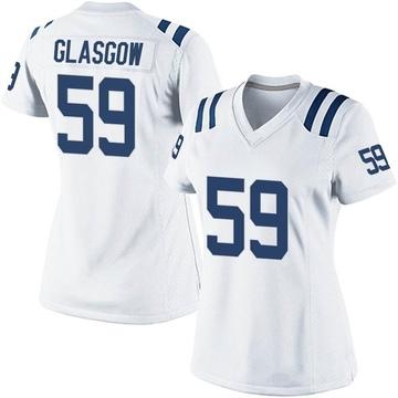 Women's Nike Indianapolis Colts Jordan Glasgow White Jersey - Game