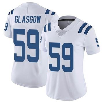 Women's Nike Indianapolis Colts Jordan Glasgow White Vapor Untouchable Jersey - Limited