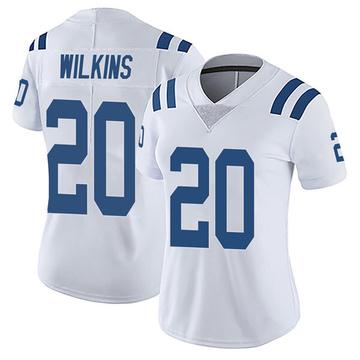 Women's Nike Indianapolis Colts Jordan Wilkins White Vapor Untouchable Jersey - Limited