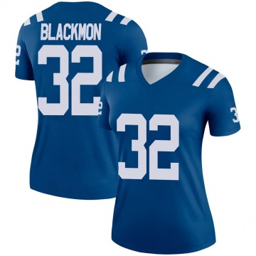 Women's Nike Indianapolis Colts Julian Blackmon Black Royal Jersey - Legend