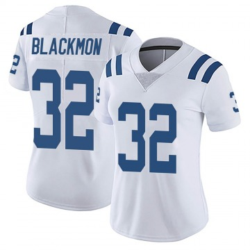 Women's Nike Indianapolis Colts Julian Blackmon White Vapor Untouchable Jersey - Limited