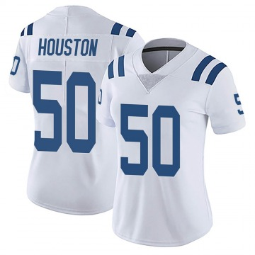 Women's Nike Indianapolis Colts Justin Houston White Vapor Untouchable Jersey - Limited