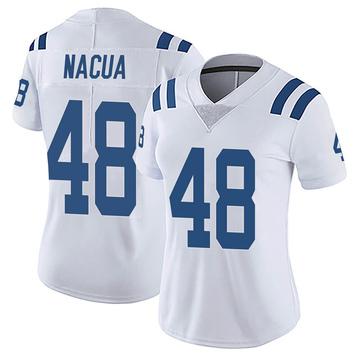 Women's Nike Indianapolis Colts Kai Nacua White Vapor Untouchable Jersey - Limited