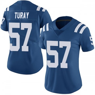 Women's Nike Indianapolis Colts Kemoko Turay Royal Team Color Vapor Untouchable Jersey - Limited