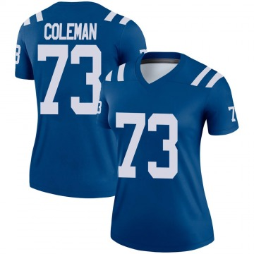 Women's Nike Indianapolis Colts Kendall Coleman Royal Jersey - Legend