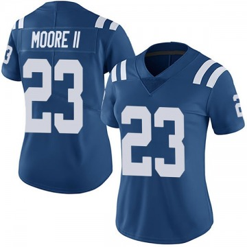 Women's Nike Indianapolis Colts Kenny Moore II Royal Team Color Vapor Untouchable Jersey - Limited