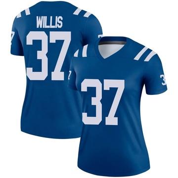 Women's Nike Indianapolis Colts Khari Willis Royal Jersey - Legend