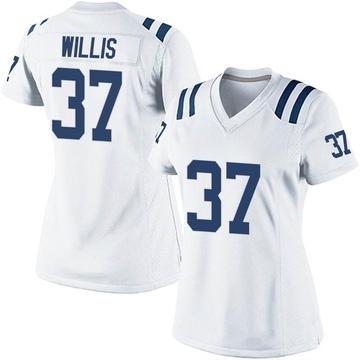 Women's Nike Indianapolis Colts Khari Willis White Jersey - Game