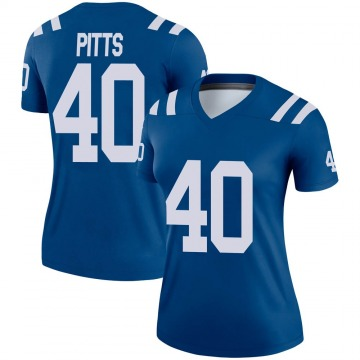 Women's Nike Indianapolis Colts Lafayette Pitts Royal Jersey - Legend
