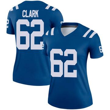 Women's Nike Indianapolis Colts Le'Raven Clark Royal Jersey - Legend