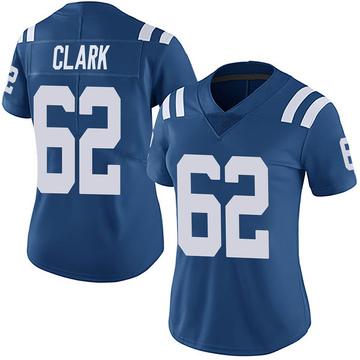 Women's Nike Indianapolis Colts Le'Raven Clark Royal Team Color Vapor Untouchable Jersey - Limited