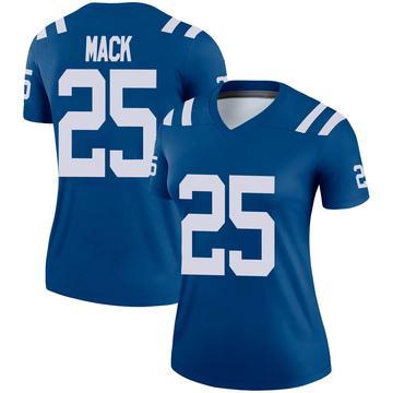 Women's Nike Indianapolis Colts Marlon Mack Royal Jersey - Legend