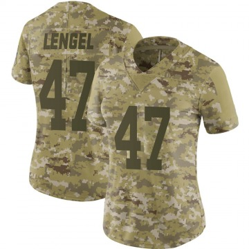 Women's Nike Indianapolis Colts Matt Lengel Camo 2018 Salute to Service Jersey - Limited