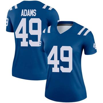 Women's Nike Indianapolis Colts Matthew Adams Royal Jersey - Legend