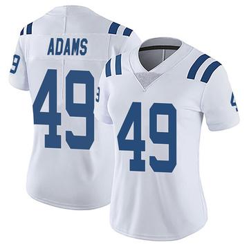 Women's Nike Indianapolis Colts Matthew Adams White Vapor Untouchable Jersey - Limited