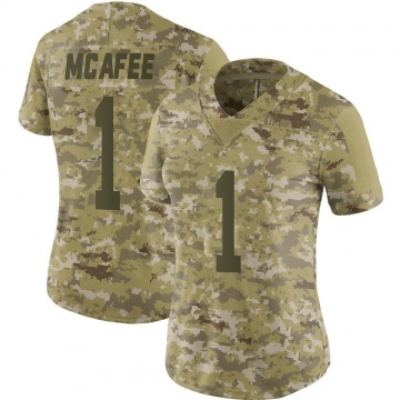 Women's Nike Indianapolis Colts Pat McAfee Camo 2018 Salute to Service Jersey - Limited
