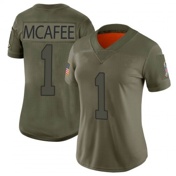 Women's Nike Indianapolis Colts Pat McAfee Camo 2019 Salute to Service Jersey - Limited