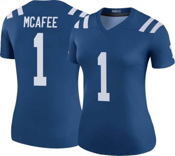 Women's Nike Indianapolis Colts Pat McAfee Royal Color Rush Jersey - Legend