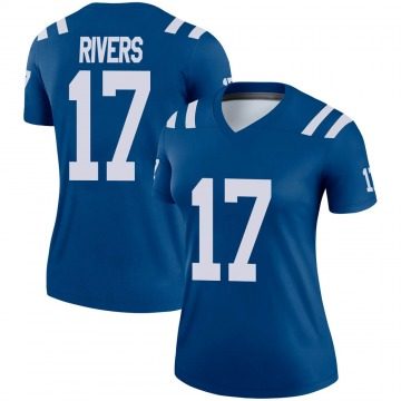 Women's Nike Indianapolis Colts Philip Rivers Royal Jersey - Legend