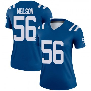 Women's Nike Indianapolis Colts Quenton Nelson Royal Jersey - Legend