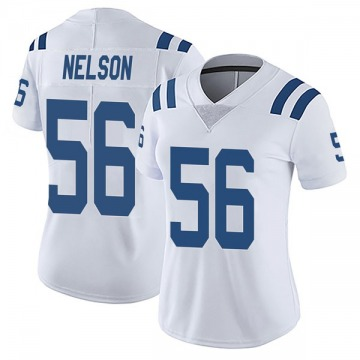 Women's Nike Indianapolis Colts Quenton Nelson White Vapor Untouchable Jersey - Limited