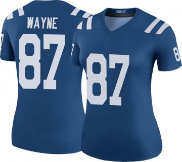 Women's Nike Indianapolis Colts Reggie Wayne Royal Color Rush Jersey - Legend