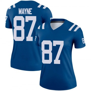 Women's Nike Indianapolis Colts Reggie Wayne Royal Jersey - Legend