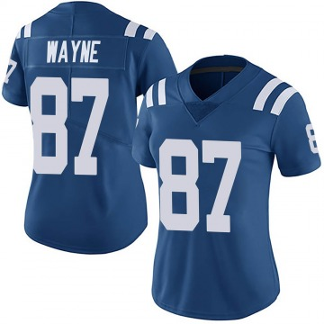 Women's Nike Indianapolis Colts Reggie Wayne Royal Team Color Vapor Untouchable Jersey - Limited