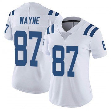 Women's Nike Indianapolis Colts Reggie Wayne White Vapor Untouchable Jersey - Limited