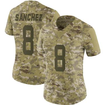 Women's Nike Indianapolis Colts Rigoberto Sanchez Camo 2018 Salute to Service Jersey - Limited