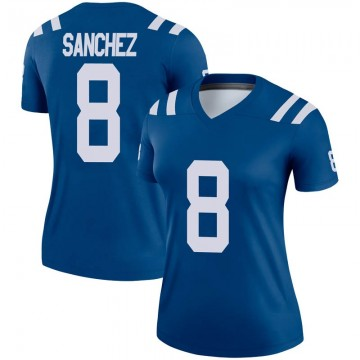 Women's Nike Indianapolis Colts Rigoberto Sanchez Royal Jersey - Legend