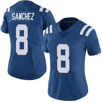 Women's Nike Indianapolis Colts Rigoberto Sanchez Royal Team Color Vapor Untouchable Jersey - Limited