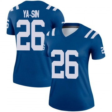Women's Nike Indianapolis Colts Rock Ya-Sin Royal Jersey - Legend