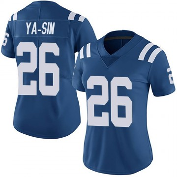 Women's Nike Indianapolis Colts Rock Ya-Sin Royal Team Color Vapor Untouchable Jersey - Limited