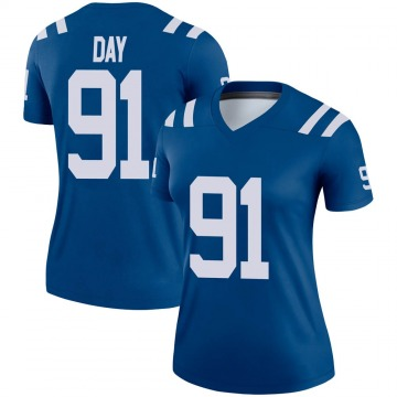 Women's Nike Indianapolis Colts Sheldon Day Royal Jersey - Legend