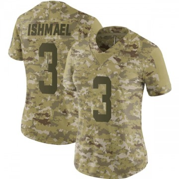 Women's Nike Indianapolis Colts Steve Ishmael Camo 2018 Salute to Service Jersey - Limited