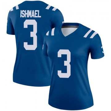 Women's Nike Indianapolis Colts Steve Ishmael Royal Jersey - Legend