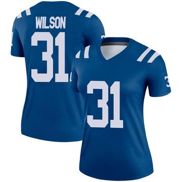 Women's Nike Indianapolis Colts Tavon Wilson Royal Jersey - Legend