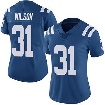 Women's Nike Indianapolis Colts Tavon Wilson Royal Team Color Vapor Untouchable Jersey - Limited