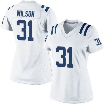 Women's Nike Indianapolis Colts Tavon Wilson White Jersey - Game