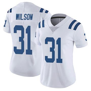 Women's Nike Indianapolis Colts Tavon Wilson White Vapor Untouchable Jersey - Limited