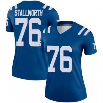 Women's Nike Indianapolis Colts Taylor Stallworth Royal Jersey - Legend
