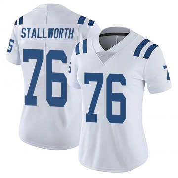 Women's Nike Indianapolis Colts Taylor Stallworth White Vapor Untouchable Jersey - Limited