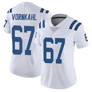 Women's Nike Indianapolis Colts Travis Vornkahl White Vapor Untouchable Jersey - Limited
