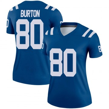 Women's Nike Indianapolis Colts Trey Burton Royal Jersey - Legend