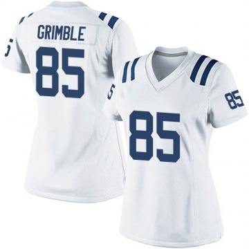 Women's Nike Indianapolis Colts Xavier Grimble White Jersey - Game