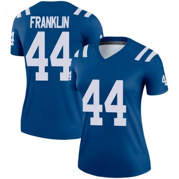 Women's Nike Indianapolis Colts Zaire Franklin Royal Jersey - Legend