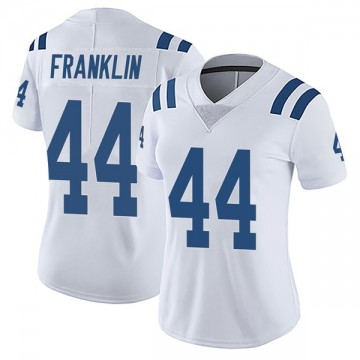 Women's Nike Indianapolis Colts Zaire Franklin White Vapor Untouchable Jersey - Limited